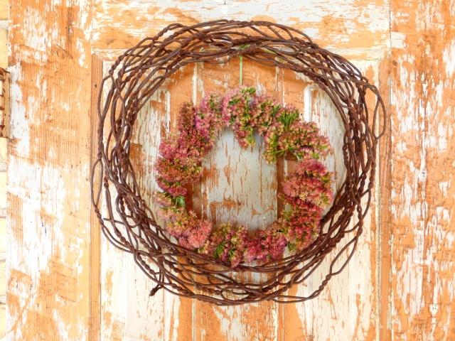 wreathhanging